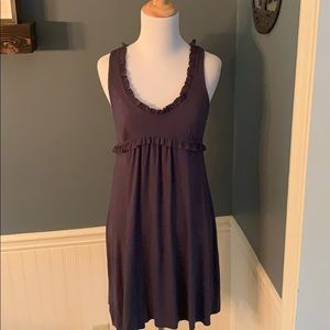 Michael Stars Racerback Tank Ruffle Dress Cover Up